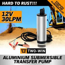 DC12V Aluminium Diesel Fuel Pump Submersible Transfer Vessel Water Oil Car Auto