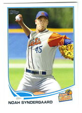 2013 Topps Pro Debut #156 NOAH SYNDERGAARD RC New York Mets QTY Available