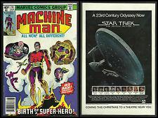MACHINE MAN #10 (Aug 1979, Marvel) VG/FN STEVE DITKO