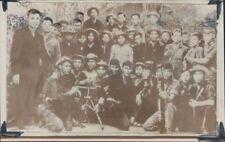 1969 Press Photo Vietnam War Viet Cong Guerillas Pose For Picture Near My Lai