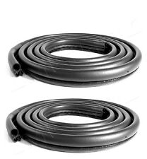 1980-1996 Ford F100 150 250 350 pickup truck Bronco door weatherstrip seal, pair