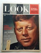 Vintage Look Magazine May 9 1961 JFK  Kennedy's Election; Michener Jerry Lewis