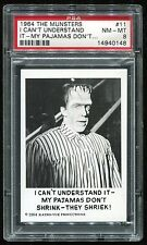 1964 The Munsters #11 I Can't Understand It PSA 8 NM-MT Cert #14940148