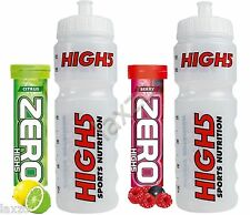 High5 Clear Water Bottle FREE 10x Zero ELECTROLYTE MAGNESIUM Sports Drink Tablet