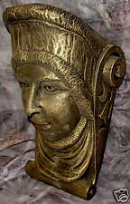 Mythical Kings Head Gothic Man Bracket Green Man Sconce
