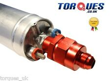 AN -8 (8AN AN8) Bosch 044 /  910 Fuel Pump Outlet Check Valve In Red
