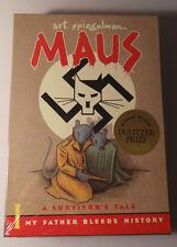Maus: A Survivor's Tale, Parts I & II (2 Volumes) Sealed Spiegelman New