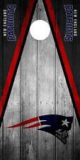 Solo New England Patriots Cornhole Abrigo Piel Calcomanía Vinilo tablero de juego NFL DT61