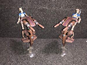 Clone Wars~Battle Droid STAP Attack Set~Star Wars 3.75 Figure Lot