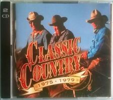 "VARIOUS ARTISTS - CLASSIC COUNTRY ""1975 - 1979"", 30 Superb Tracks 2 Audio CD's"