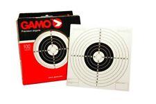 Pack de 25 dianas de carton de tiro al blanco Gamo tamaño 14x14 cm SUELTAS