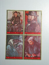 4 Art Stamps MANAMA Dependency Of Ajman 1972 Bahrain