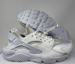 Nike Women's Huarache Premium ID White SZ 9.5  [634835-108]