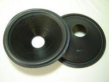 """Pair 10"""" Paper Speaker Cones - Recone Parts - 160-1"""