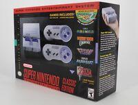 Super Nintendo Entertainment System Super NES Classic Edition SNES New