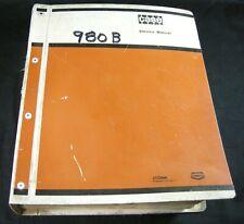 CASE 980B Excavator Shop Service Repair & Parts Manual Book Catalog Binder OEM
