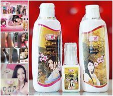 1 Set Chinese Herbal Thai Natural Shampoo Condition Serum Fast Long Hair Growth