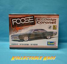 Foose Design1967 Dodge Coronet 1 25 Revell Factory Unbuilt NOS Kit MOPAR