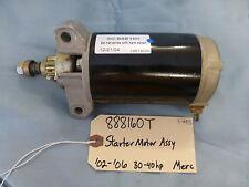 50-888160T 888160T QUICKSILVER STARTER MOTOR ASSY MERCURY MARINER 30-40HP A6
