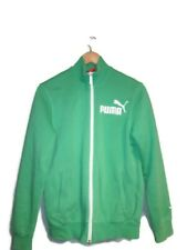 Vintage Women's Puma Track Jacket Green Size XL US 32/34 UK