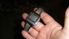 Casio DB-500 men digital watch data bank telememo 50 vintage new battery Japan