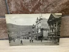 More details for antique real photo 1908  postcard of courtenay place wellington new zealand