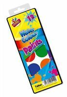 Watercolour Paint Set 12 Assorted Colours Water Colour Set Case Kids Art Drawing