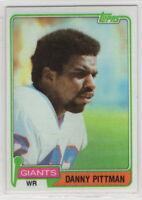 1981 Topps Football New York Giants Complete Team Set
