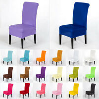 Stretch Chair Seat Cover Spandex Washable Wedding Xmas Banquet Party Chair Decor