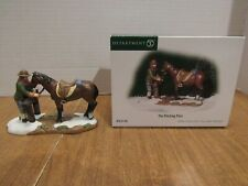 New ListingDept. 56 2003 New England Village The Hitching Post #56.57106 Man W/Horse