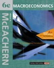 Macroeconomics : A Contemporary Introduction by William A. McEachern (2002,...