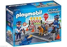 6878 Control policial playmobil policía,police