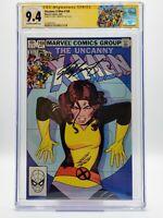 Uncanny X-Men #168 (1983) CGC 9.4 SS Signed Chris Claremont Adult Madelyne Pryor