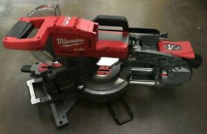 Milwaukee 2734-20 M18 FUEL 10in Dual Bevel Sliding Miter Saw, V.G M