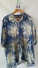 Vintage Men's Hawaiian Shirt Natural Issue Xl/Xg 100% Rayon