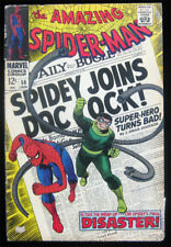Amazing Spider-Man 56 - 1st Appearance Capt Stacy - Doctor Octopus - Stan Lee