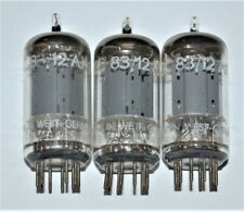 3 vintage TeleFunKen 12ax7/ECC83 Audio Tubes W. Germany