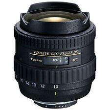 Near Mint! Tokina AT-X 10-17mm f/3.5-4.5 DX Fisheye for Canon - 1 year warranty