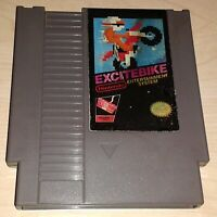 Excitebike Racing Nintendo NES Vintage classic original retro game cartridge