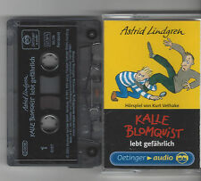 MC Kalle BlomQuist lebt gefährlich Hörspiel - Astrid Lindgren Oetinger audio