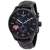 Tissot NBA Teams Special New York Knicks Chronograph Black Dial Men's Watch