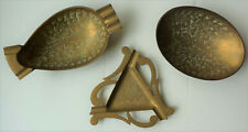 Three Pieces of Harilela's Indian Brass