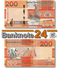 Gambia 200 Delasis 2019 Unc , Banknote, New, Birds Issue Pn 42a