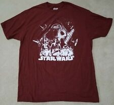 Star Wars Darth Vader, Chewbacca & Other Characters Fifth Sun T-Shirt Mens Xl