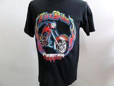 "Cuello redondo para hombre American Chopper Camisetas Negro Talla S/M 36"" V buen SKU no WB051"