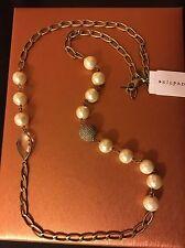 "SILPADA K&R ""Glitz and Pearls"" Necklace NWT- Beautiful!"