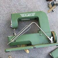 Vintage ELNA Supermatic Sewing Machine (Green) w/ Metal Case
