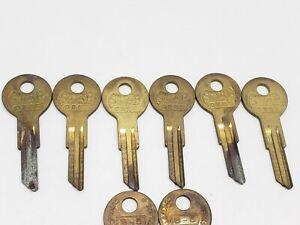Star Brand Key blanks, # OBR3 84RAI 98NR, set of 8, locksmith