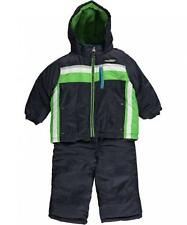 London Fog Infant Boys Navy & Green 2pc Snowsuit Size 24M