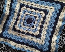 New Handmade crochet baby blanket, car seat, pram, crib and snuggle